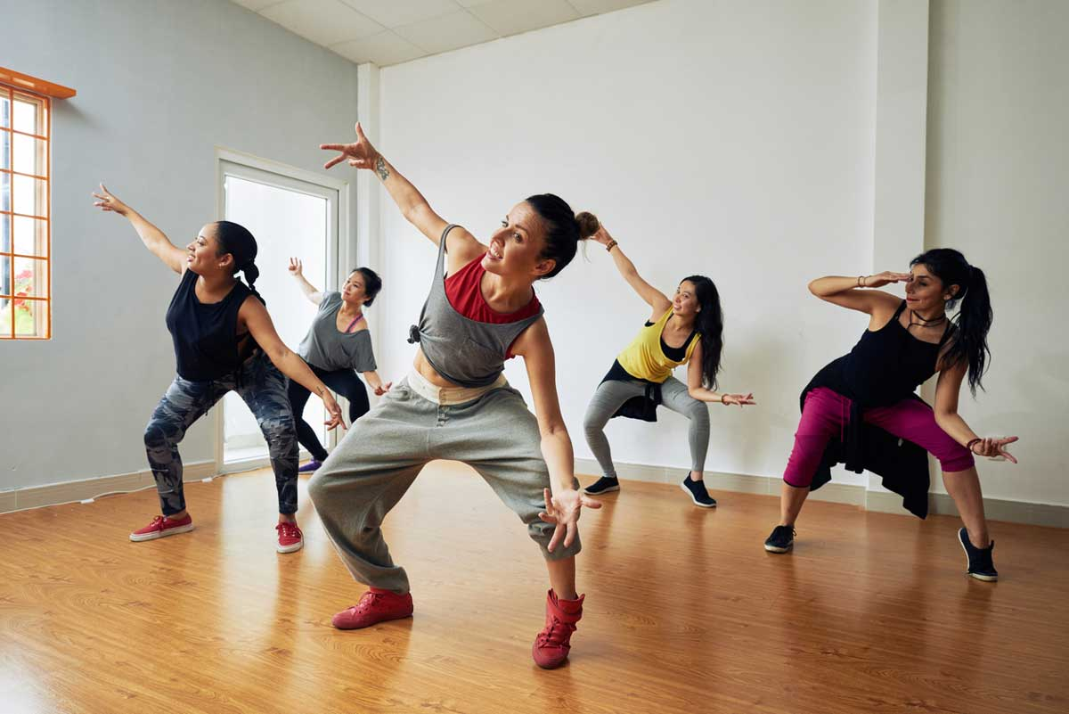 best western dance classes in east Delhi